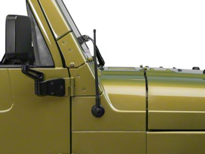 RedRock 4x4 Trail 13 in. Short Antenna (97-06 Jeep Wrangler TJ)