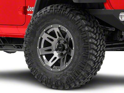 Rugged Ridge XHD Gun Metal Gray Wheel - 17X9 (18-19 Jeep Wrangler JL)