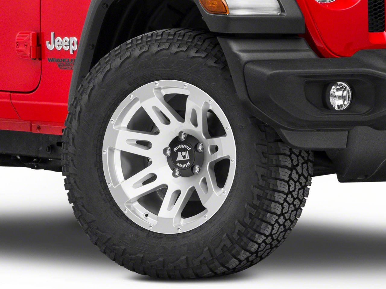 Rugged Ridge XHD Silver Wheel - 18X9 (18-19 Jeep Wrangler JL)