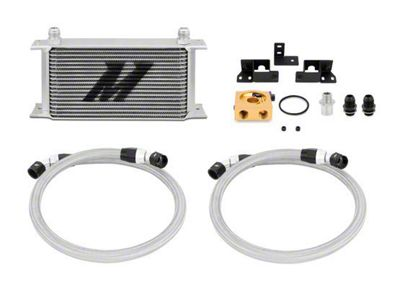 Mishimoto Thermostatic Oil Cooler Kit - Silver (07-11 3.8L Jeep Wrangler JK)