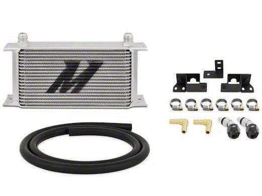 Mishimoto Transmission Cooler Kit - Silver (07-11 3.8L Jeep Wrangler JK)