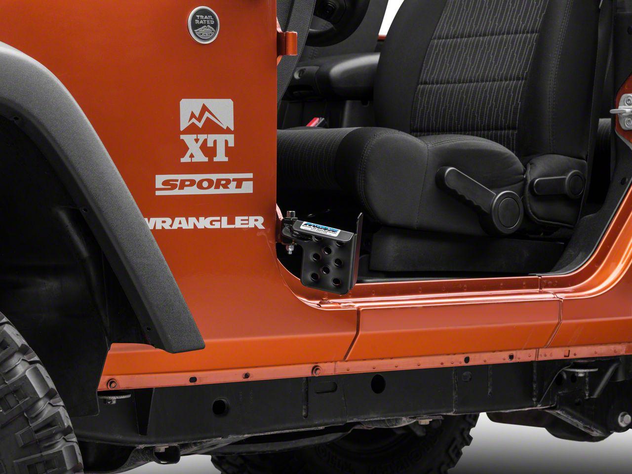 M.O.R.E. Exterior Door Pedal - Drivers Side (07-18 Jeep Wrangler JK)