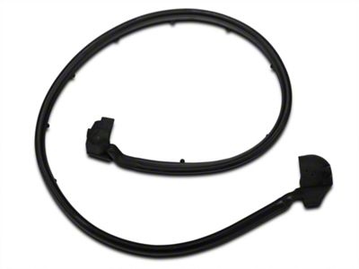 OPR Passengers Side Half Door Seal (87-95 Jeep Wrangler YJ)