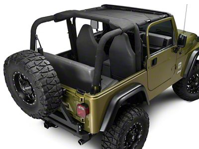 TruShield HalfShade Top (97-02 Jeep Wrangler TJ)