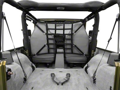 TruShield Pet Barrier Net - Black (92-06 Jeep Wrangler YJ & TJ)