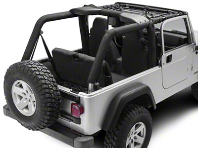 TruShield Front Overhead Net (04-06 Jeep Wrangler TJ Unlimited)
