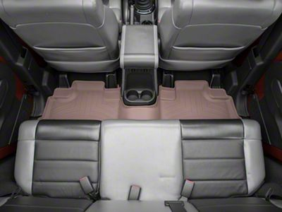 Weathertech DigitalFit Rear Floor Liner - Tan (07-13 Jeep Wrangler JK 4 Door)