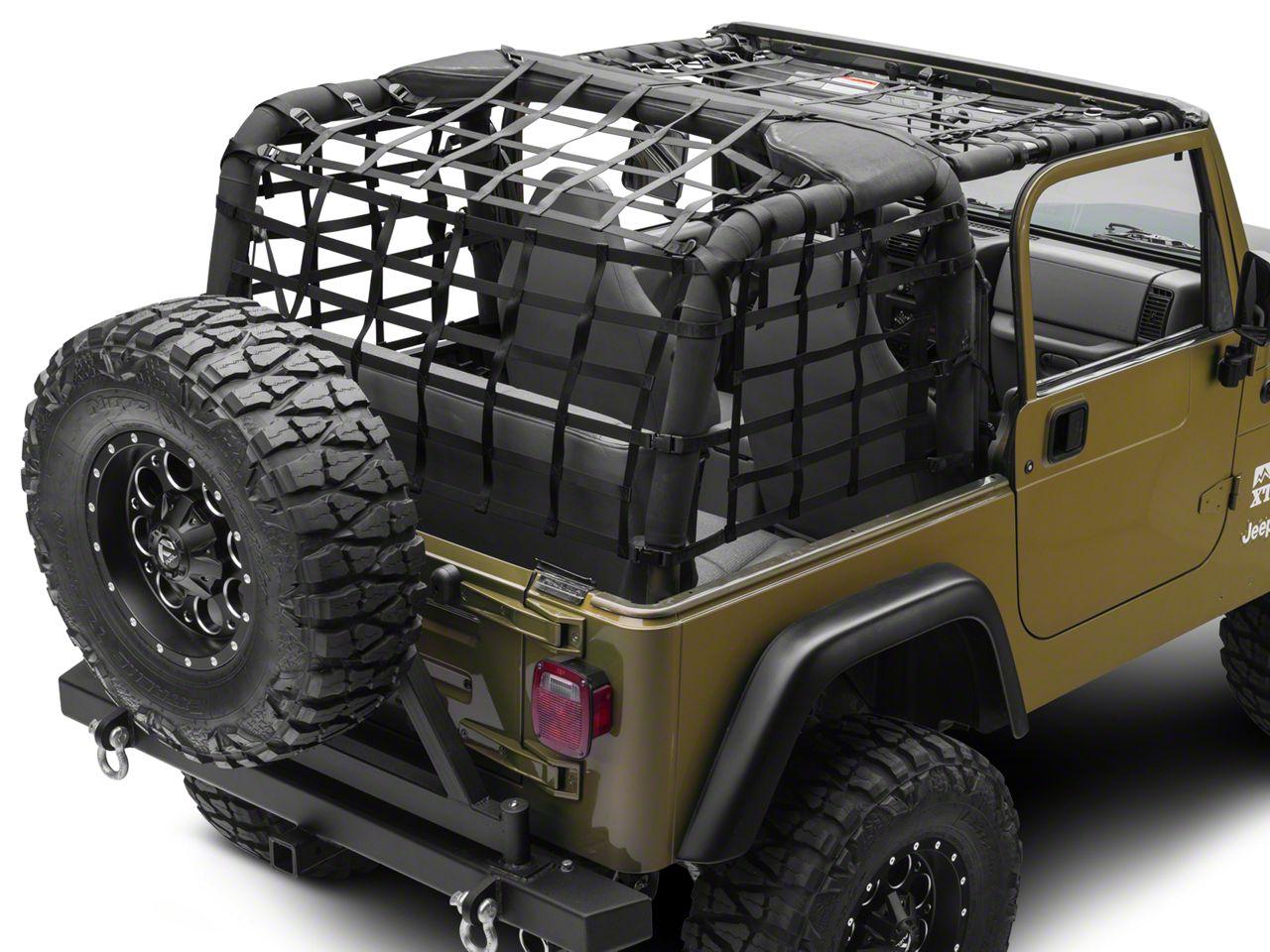 PrimalTech Complete Netting Kit (92-06 Jeep Wrangler YJ & TJ)