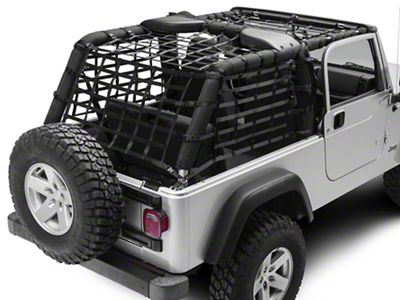 TruShield Complete Netting Kit (04-06 Jeep Wrangler TJ Unlimited)