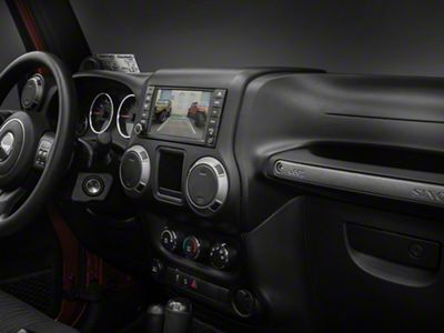 Raxiom OE-Style Navigation w/ Bluetooth & Back-up Camera (07-18 Jeep Wrangler JK)