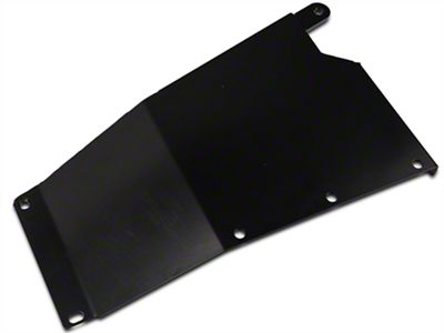 Synergy Transfer Case Skid Plate - Black Powder Coated (07-18 Jeep Wrangler JK)