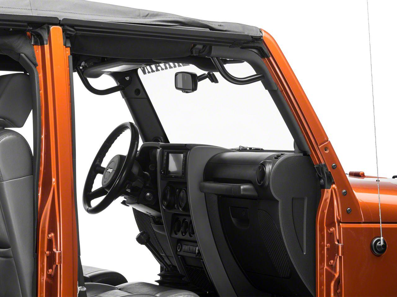 Synergy Front Grab Handles (07-18 Jeep Wrangler JK; 2018 Jeep Wrangler JL)