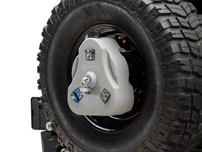 Daystar Cam Can Complete Kit - Gray - Drinking Water (97-18 Jeep Wrangler TJ & JK)