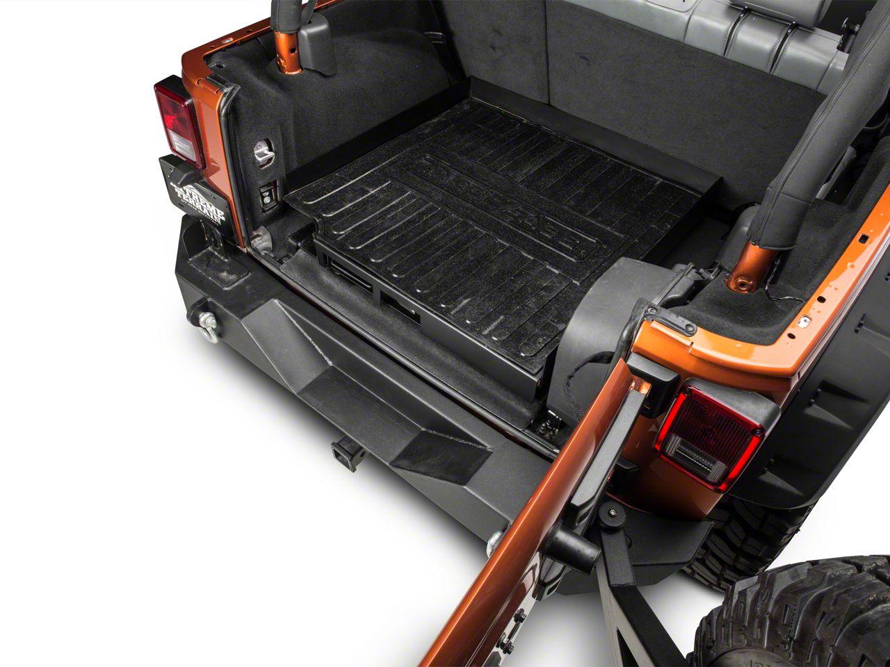 CargoEase Bed Slide (87-18 Jeep Wrangler YJ, TJ, JK & JL)