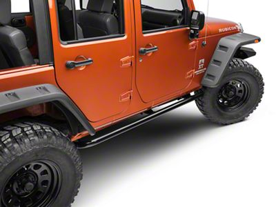 ARB Rock Sliders - Satin Black (07-18 Jeep Wrangler JK 4 Door)