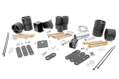 Rough Country 2 in. Body Lift Kit w/o Shocks (97-06 Jeep Wrangler TJ)