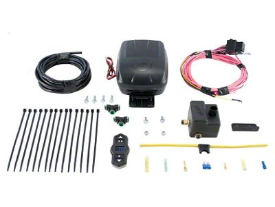 Air Lift Wireless Air Single Path Standard Duty On Board Air System (97-19 Jeep Wrangler TJ, JK & JL)