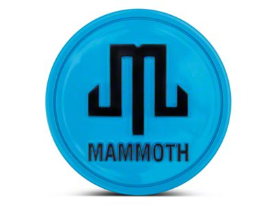 Mammoth Blue Center Cap (87-18 Jeep Wrangler YJ, TJ, JK & JL)