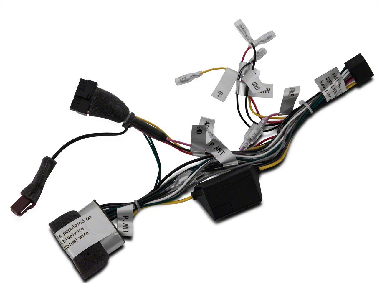 Raxiom Navigation Premium Sound Wire Harness (07-18 Jeep Wrangler JK)