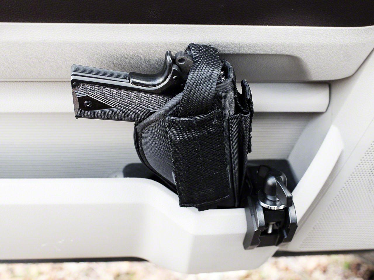 Condition Zero Pistol Mount Clamp (87-19 Jeep Wrangler YJ, TJ, JK & JL)