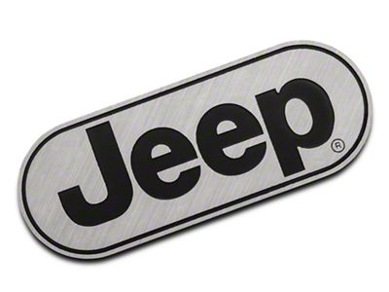RedRock 4x4 Jeep Logo Hitch Cover (87-19 Jeep Wrangler YJ, TJ, JK & JL)