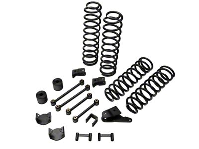 ReadyLIFT SST Lift Kit 4 in. Front / 3 in. Rear (07-18 Jeep Wrangler JK)