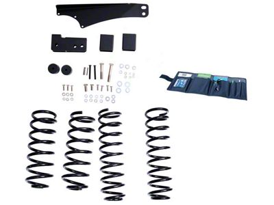 Rugged Ridge 2.5-3.5 in. Lift Kit w/o Shocks (07-18 Jeep Wrangler JK)