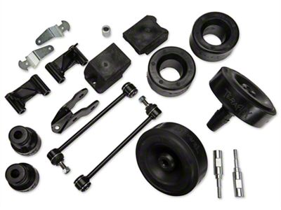 Teraflex 2.5 in. Performance Budget Boost Kit w/o Shocks w/Adapters (07-18 Jeep Wrangler JK)