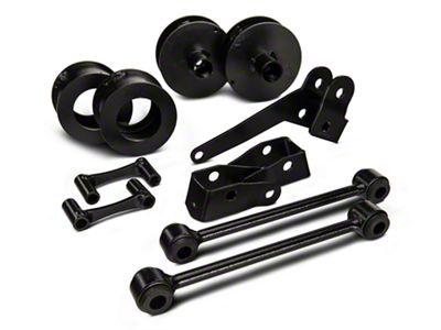 Rough Country 2.5 in. Series II Lift Kit w/o Shocks (07-18 Jeep Wrangler JK)