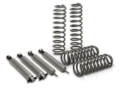 Rough Country 2.5 in. Suspension Lift Kit w/ Shocks (07-18 Jeep Wrangler JK 2 Door)