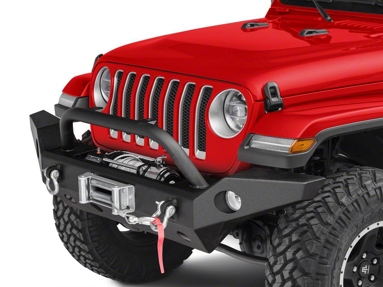 Barricade Trail Force HD Full Width Front Bumper (2018 Jeep Wrangler JL)