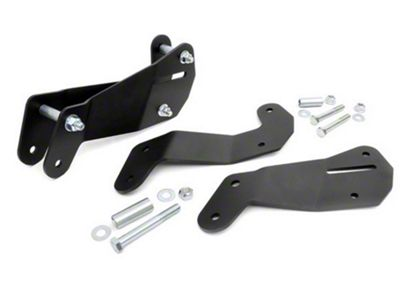 Rough Country Front Control Arm Geometry Correction Brackets (07-18 Jeep Wrangler JK)