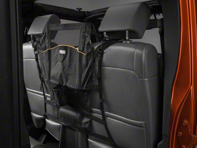 Kurgo Pet Barrier - Backseat Pet Shield (87-19 Jeep Wrangler YJ, TJ, JK & JL)