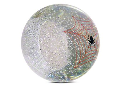 Alterum Clear Spider Custom Shift Knob with Metal Flake (87-18 Jeep Wrangler YJ, TJ & JK)