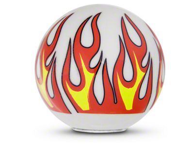 Alterum Ivory Flame Custom Shift Knob (87-18 Jeep Wrangler YJ, TJ & JK)