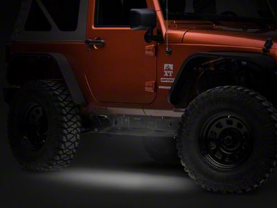Axial Flexible LED Strip 36 in. - White (87-18 Jeep Wrangler YJ, TJ, JK & JL)