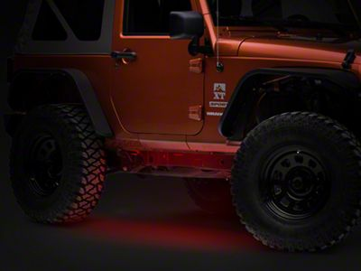Axial Flexible LED Strip 36 in. - Red (87-18 Jeep Wrangler YJ, TJ, JK & JL)