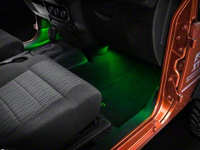 Axial 15 in. LED Strips - Green (87-18 Jeep Wrangler YJ, TJ, JK & JL)