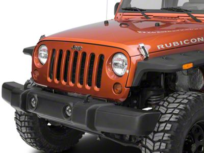 Recon Chrome LED Fog Lights (07-18 Jeep Wrangler JK)
