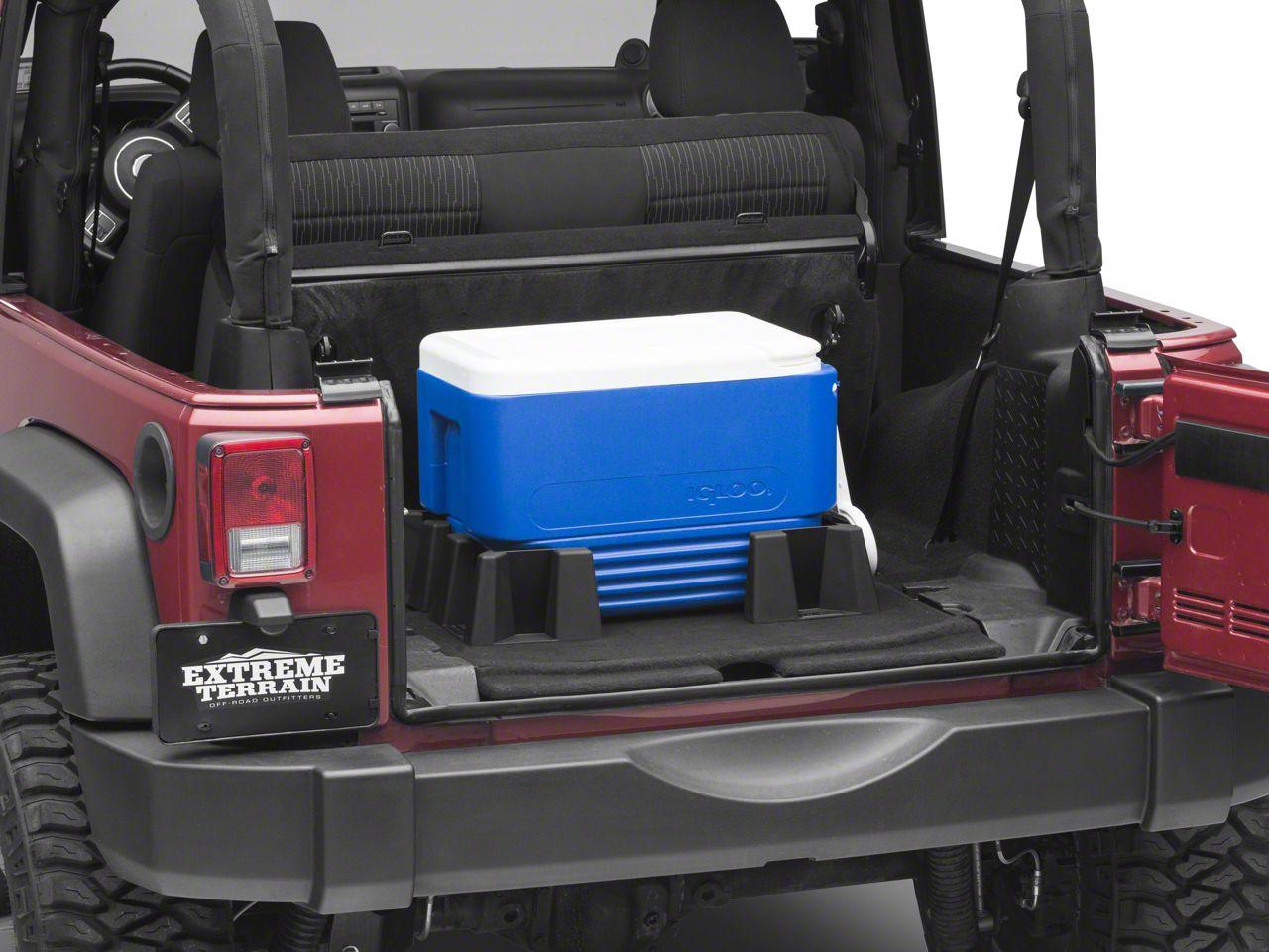 Weathertech CargoTech Cargo Containment System (87-18 Jeep Wrangler YJ, TJ, JK & JL)