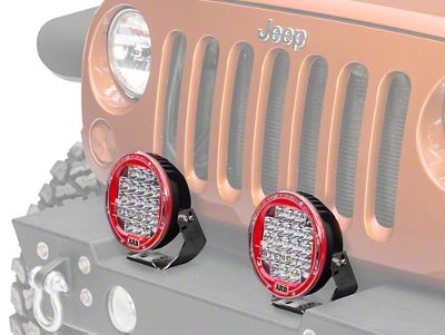 ARB Intensity 7 in. Round 21 LED Light - Spot Beam (87-19 Jeep Wrangler YJ, TJ, JK & JL)