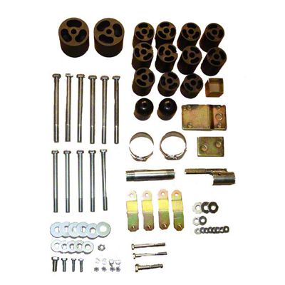 Rugged Ridge 3 in. Body Lift Kit w/o Shocks (97-06 Jeep Wrangler TJ)