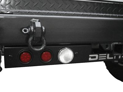 Delta Rear LED Ground Bar with Turn, Stop, Backup Lights & Backup Sensors
