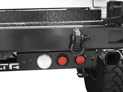 Delta Rear LED Ground Bar with Turn, Stop, Backup Lights, Backup Sensors and Camera