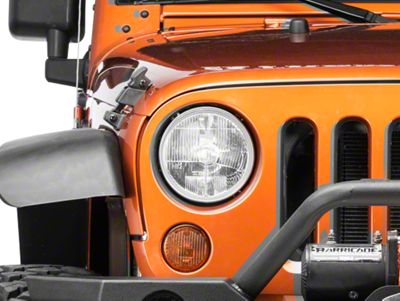 Delta Xenon 7 in. Headlight Kit (07-18 Jeep Wrangler JK)