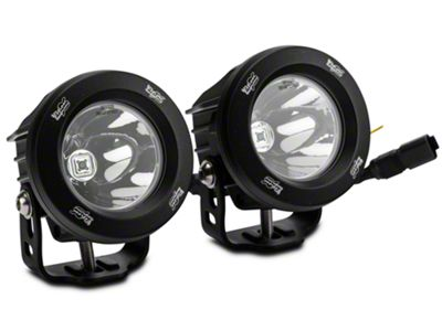 Vision X LED Factory Fog Light Upgrade (07-09 Jeep Wrangler JK)