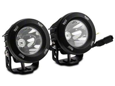 Vision X LED Factory Fog Light Upgrade (10-18 Jeep Wrangler JK)
