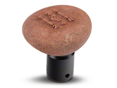 RockNob Moab Earth Tone Kokopelli Shift Knob - 5 Speed (87-04 Jeep Wrangler YJ & TJ)