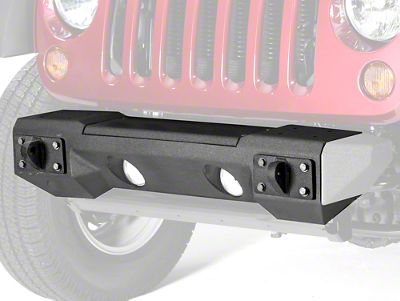 Rugged Ridge Steel Front Winch Bumper (07-18 Jeep Wrangler JK)