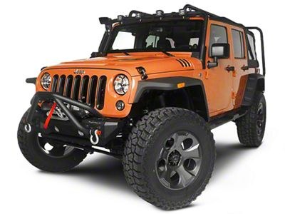 Rugged Ridge Exploration Exterior Restyling Package (07-12 Jeep Wrangler JK 4 Door)